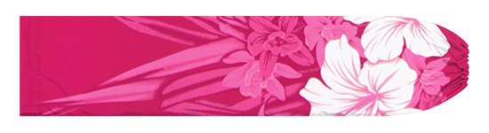 ピンクのパウスカートケース ハイビスカス・オーキッド柄 pcase-2799Pi 【メール便可】★オーダーメイド