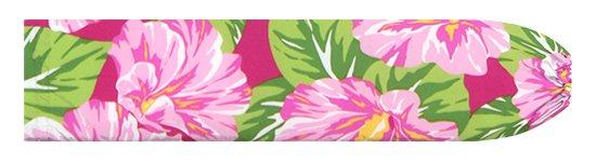ピンクのパウスカートケース ハイビスカス柄 pcase-2800Pi 【メール便可】★オーダーメイド