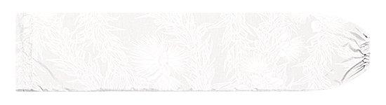 白のパウスカートケース レフア・マイレレイ柄 pcase-2801WHWH 【メール便可】★オーダーメイド