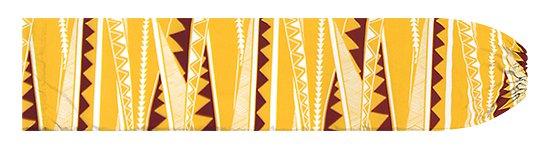 黄色のパウスカートケース カヒコ・ボーダー柄 pcase-2807YW 【メール便可】★オーダーメイド