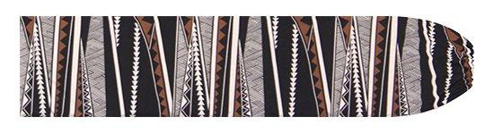 黒と茶色のパウスカートケース カヒコ・ボーダー柄 pcase-2807BKBR 【メール便可】★オーダーメイド