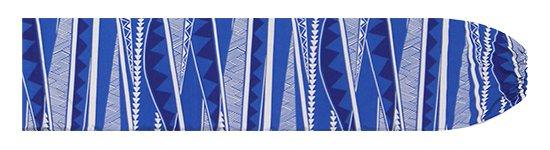 青のパウスカートケース カヒコ・ボーダー柄 pcase-2807BL 【メール便可】★オーダーメイド