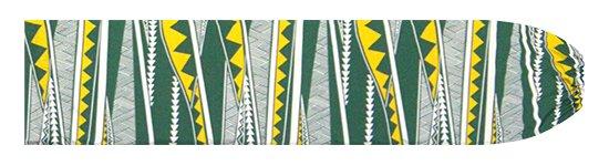緑のパウスカートケース カヒコ・ボーダー柄 pcase-2807GN 【メール便可】★オーダーメイド