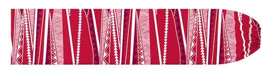 赤のパウスカートケース カヒコ・ボーダー柄 pcase-2807RD 【メール便可】★オーダーメイド