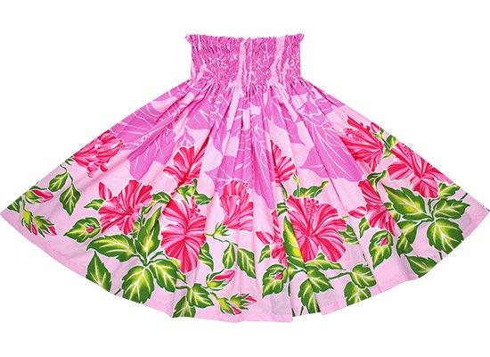 【蔵出し】 ピンクのパウスカート ハイビスカス柄 spau-2690PiPi-re