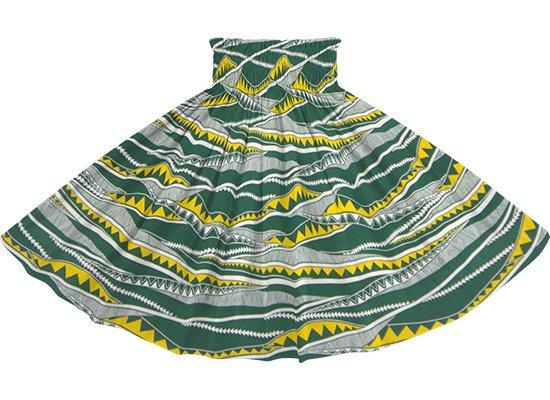 緑のパウスカート カヒコ・ボーダー柄 spau-rm-2807GN 75cm 4本ゴム 【既製品】
