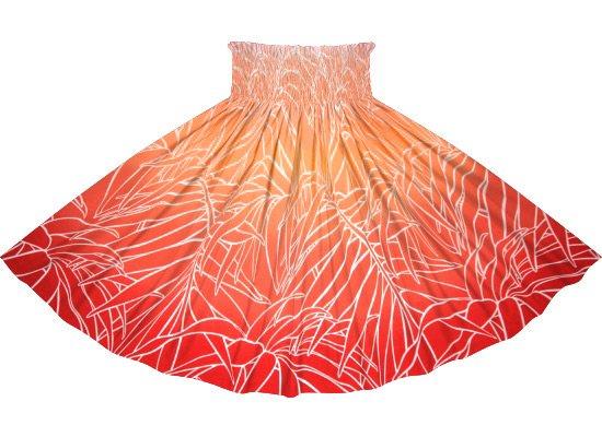 【蔵出し】 赤のパウスカート ヤシ・グラデーション柄 spau-2703RD-re