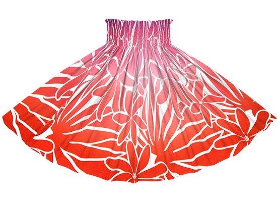 【蔵出し】 赤のパウスカート ティアレ・グラデーション柄 spau-2706RD-re