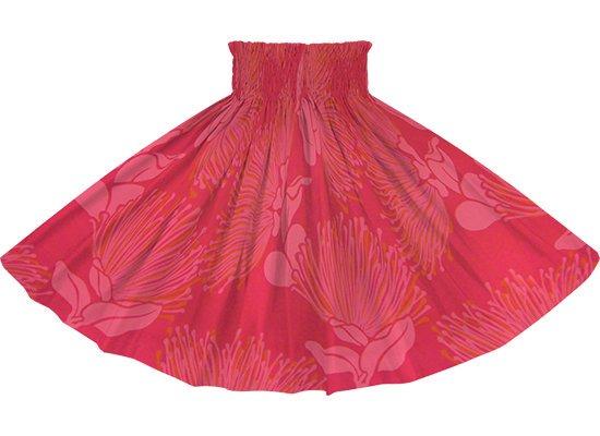 赤のパウスカート レフア大柄 spau-rm-2803RD 80cm 3本ゴム 【既製品】