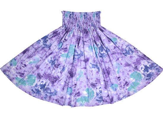 【蔵出し】 紫のパウスカート ハイビスカス柄 spau-2668PP-re