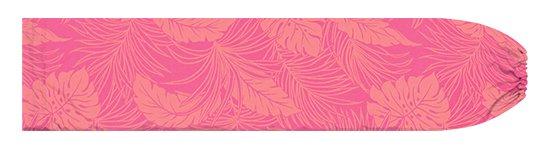 【限定色】ピンクのパウスカートケース モンステラ柄 pcase-2022Pik 【メール便可】★オーダーメイド