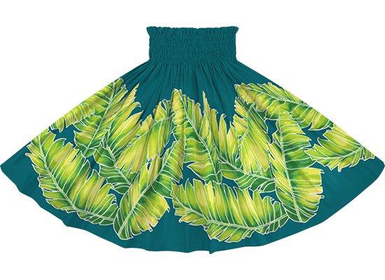 ヒスイ色のパウスカート バナナリーフ柄 spau-2814JD