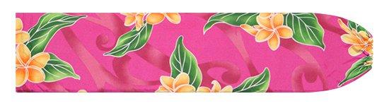 ピンクのパウスカートケース プルメリア柄 pcase-2809Pi 【メール便可】★オーダーメイド