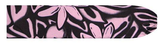 ピンクのパウスカートケース ティアレ・モンステラ柄 pcase-2816Pi 【メール便可】★オーダーメイド