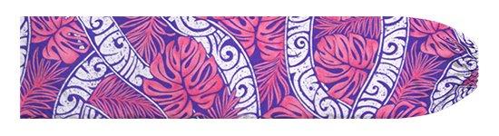 ピンクのパウスカートケース モンステラ・カヒコ柄 pcase-2823Pi 【メール便可】★オーダーメイド