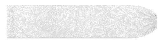 白のパウスカートケース ハイビスカス・ラウアエ柄 pcase-2829WHWH 【メール便可】★オーダーメイド