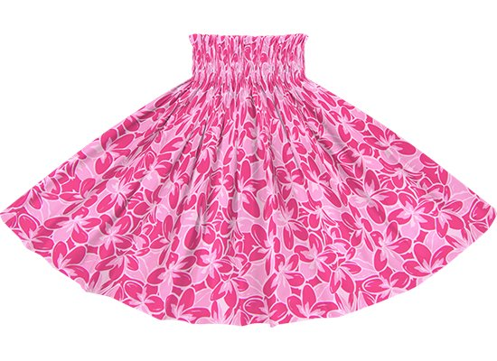 ピンクのパウスカート プルメリア総柄 spau-rm-2817Pi 75cm 4本ゴム 【既製品】