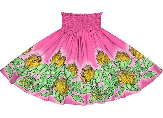 ピンクのパウスカート レフア柄 spau-rm-2820Pi 75cm 4本ゴム 【既製品】