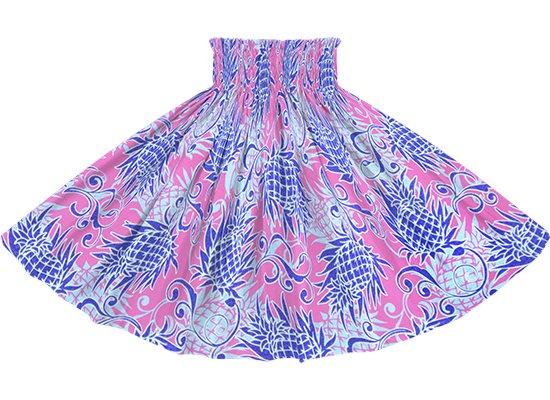 ピンクのパウスカート パイナップル柄 spau-rm-2821Pi 75cm 4本ゴム 【既製品】