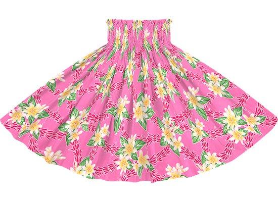 ピンクのパウスカート ティアレ・チューベローズ柄 spau-rm-2827Pi 75cm 4本ゴム 【既製品】