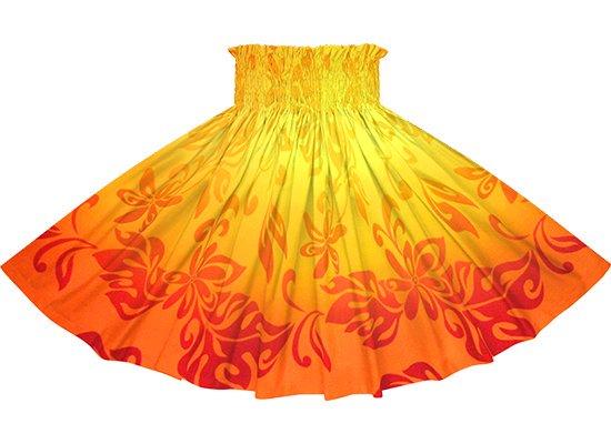 【蔵出し】 オレンジのパウスカート ティアレ・グラデーション柄 spau-2728OR