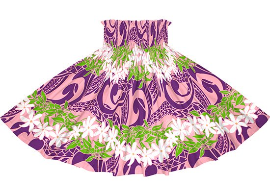 【蔵出し】 ピンクと紫のパウスカート ティアレ・ボーダー柄 spau-2748PiPP