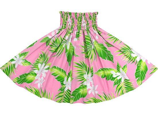 【蔵出し】 ピンクのパウスカート ティアレ・ヤシ柄 spau-2632Pi