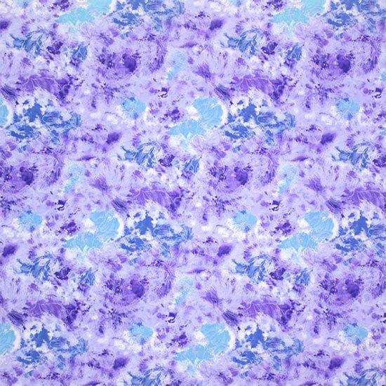【カット生地】(1.5ヤード) 紫のハワイアンファブリック ハイビスカス柄 fab-1.5y-2668PP【4yまでメール便可】