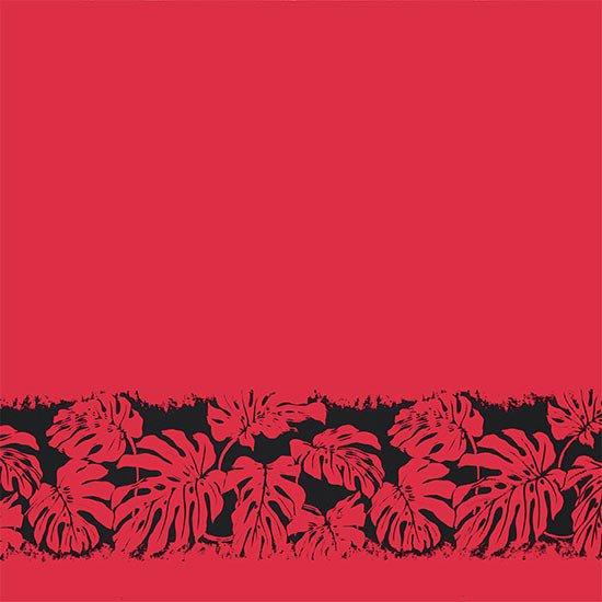 【カット生地】(2ヤード) ピンクのハワイアンファブリック モンステラ柄 fab-2y-2701Pi【4yまでメール便可】