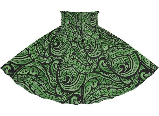緑のパウスカート カヒコ・グラデーション柄 spau-2830GN