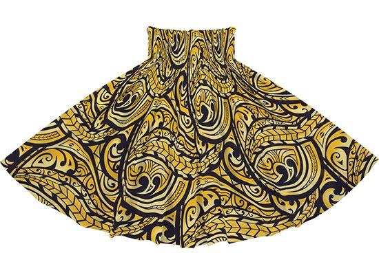 黄色のパウスカート カヒコ・グラデーション柄 spau-2830YW