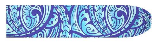 青のパウスカートケース カヒコ・グラデーション柄 pcase-2830BL 【メール便可】★オーダーメイド