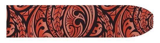 赤のパウスカートケース カヒコ・グラデーション柄 pcase-2830RD 【メール便可】★オーダーメイド