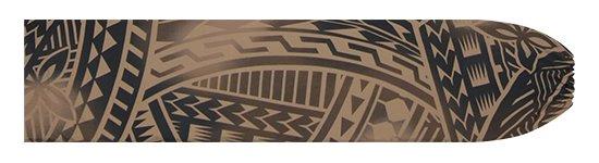 茶色のパウスカートケース トライバル・グラデーション柄 pcase-2831BR 【メール便可】★オーダーメイド