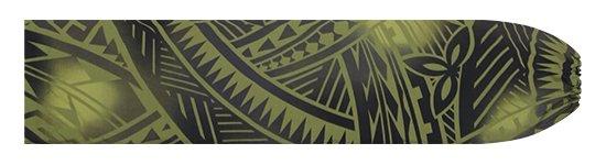 緑のパウスカートケース トライバル・グラデーション柄 pcase-2831GN 【メール便可】★オーダーメイド