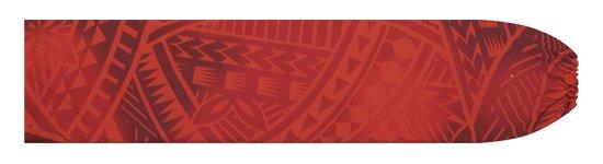 赤のパウスカートケース トライバル・グラデーション柄 pcase-2831RD 【メール便可】★オーダーメイド