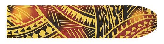 黄色のパウスカートケース トライバル・グラデーション柄 pcase-2831YW 【メール便可】★オーダーメイド