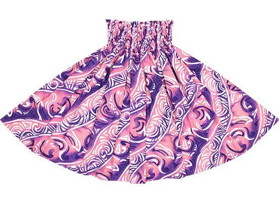 【蔵出し】 ピンクと紫のパウスカート トライバル柄 spau-2656PiPP