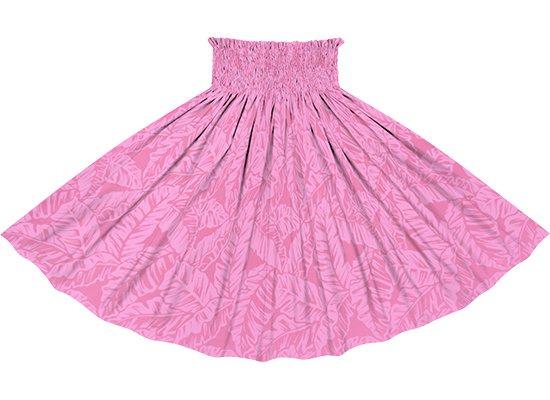 ピンクのパウスカート バナナリーフ柄 spau-rm-2681PiPi 75cm 4本ゴム 【既製品】
