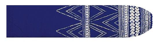 青のパウスカートケース カヒコ・タパ柄 pcase-2837BL 【メール便可】★オーダーメイド