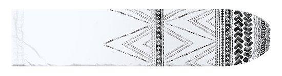 白のパウスカートケース カヒコ・タパ柄 pcase-2837WH 【メール便可】★オーダーメイド