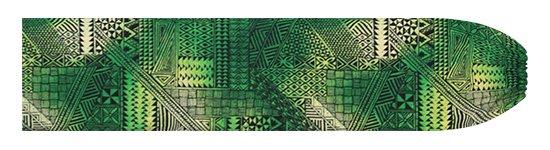 緑のパウスカートケース タパ・グラデーション柄 pcase-2838GN 【メール便可】★オーダーメイド