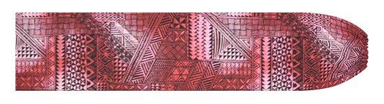 ピンクのパウスカートケース タパ・グラデーション柄 pcase-2838Pi 【メール便可】★オーダーメイド