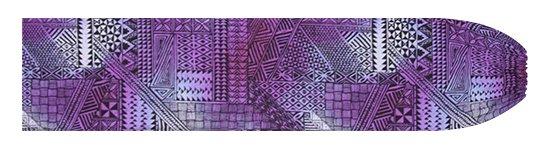 紫のパウスカートケース タパ・グラデーション柄 pcase-2838PP 【メール便可】★オーダーメイド