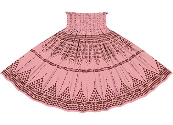 ピンクのパウスカート カヒコ柄リバース spau-2835Pi-rev