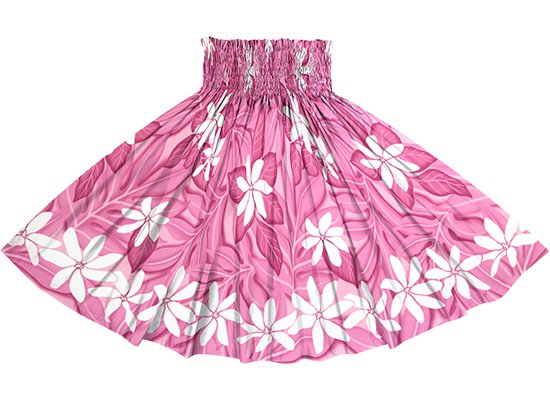 ピンクのパウスカート ティアレ柄 spau-rm-2832Pi 仕上がり丈約73cm 4本ゴム 【既製品】