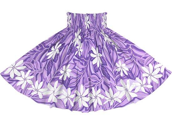 紫のパウスカート ティアレ柄 spau-rm-2832PP 仕上がり丈約73cm 4本ゴム 【既製品】