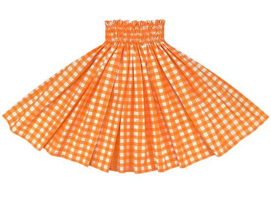 オレンジのパウスカート パラカ柄 spau-2028OR (1241)
