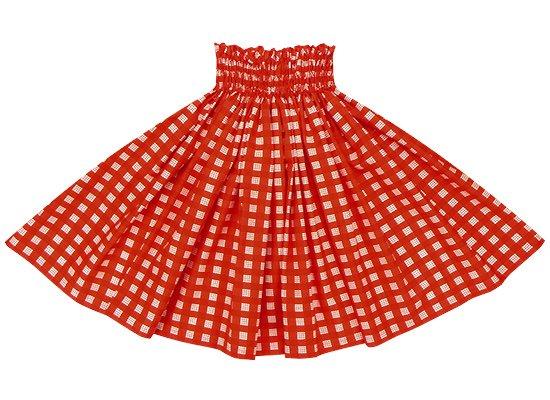 赤のパウスカート パラカ柄 spau-2028RD (1243)