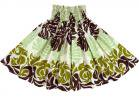 クリーム色のパウスカート モンステラ 1543-75cm-3line